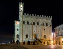 Immagini di sera di Gubbio Fotografia Stock Libera da Diritti
