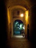Immagini di sera di Gubbio Fotografia Stock