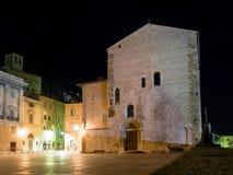 Immagini di sera di Gubbio Fotografie Stock