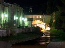 Immagini di sera di Gubbio Immagine Stock