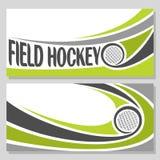 Immagini di sfondo per testo sul tema di hockey su prato Immagine Stock Libera da Diritti
