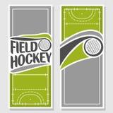 Immagini di sfondo per testo sul tema di hockey su prato Fotografia Stock Libera da Diritti