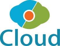 Immagini di stoccaggio e di logo della nuvola Fotografia Stock Libera da Diritti