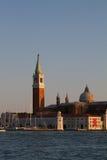 Immagini di tramonto di Venezia, Italia Immagini Stock Libere da Diritti
