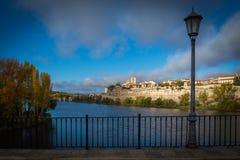 Immagini di una città storica nel centro della Spagna immagine stock