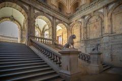 Immagini di una città storica nel centro della Spagna fotografia stock libera da diritti