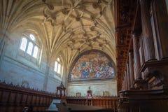Immagini di una città storica nel centro della Spagna fotografia stock