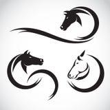 Immagini di vettore di progettazione del cavallo Fotografia Stock Libera da Diritti