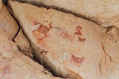 Immagini grafiche in Grand Canyon fotografie stock