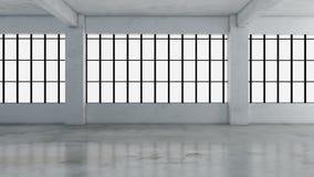 Immagini interne della rappresentazione 3d Fotografie Stock Libere da Diritti