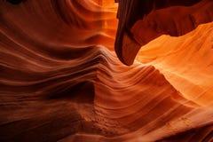 Immagini reali del canyon più basso dell'antilope in Arizona, U.S.A. Immagine Stock Libera da Diritti