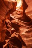 Immagini reali del canyon più basso dell'antilope in Arizona, U.S.A. Fotografie Stock
