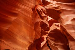 Immagini reali del canyon più basso dell'antilope in Arizona, U.S.A. Fotografia Stock