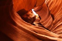 Immagini reali del canyon più basso dell'antilope in Arizona, U.S.A. Immagini Stock