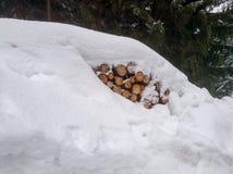 Immagini romantiche di inverno immagine stock libera da diritti