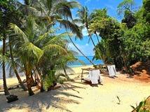 Immagini su una delle cabine, rilassi e godendo della vita pienamente! Fotografia Stock Libera da Diritti
