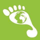 Immagini sugli oggetti ecologici Fotografia Stock Libera da Diritti