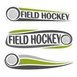 Immagini sul tema del hockey su prato Fotografia Stock