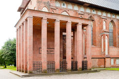 Immanuel Kant, tombeau Images stock