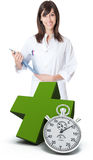 Immediate medical care Stock Images
