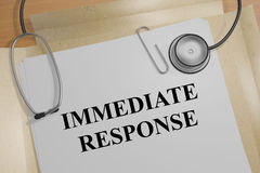 Immediate Response - medical concept Stock Photography