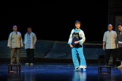 Immensely proud- Jiangxi opera a steelyard Royalty Free Stock Photography
