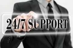 Immer awailable Unterstützung Lizenzfreie Stockfotografie