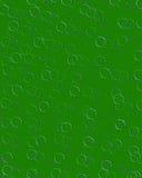 Immer währende Kreise grünlich Stockfoto