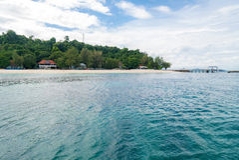 Immergersi punto Phuket Fotografia Stock Libera da Diritti