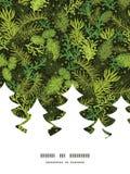 Immergrüner Weihnachtsbaum Weihnachtsbaum des Vektors Stockfotos