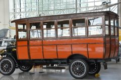 Immergrünes Luftfahrt-Museum in McMinnville, Oregon stockbilder