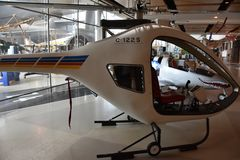 Immergrünes Luftfahrt-Museum in McMinnville, Oregon lizenzfreie stockfotos
