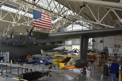 Immergrünes Luftfahrt-Museum in McMinnville, Oregon lizenzfreie stockfotografie