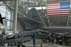 Immergrünes Luftfahrt-Museum in McMinnville, Oregon stockbild