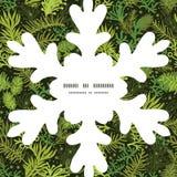 Immergrünes Weihnachten Weihnachtsbaum des Vektors Stockfotos