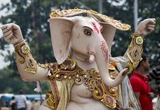 Immersing Ganesh Idol Stock Image