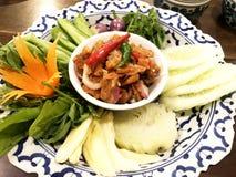 Immersion avec le style sec de Phuket de crevette image libre de droits