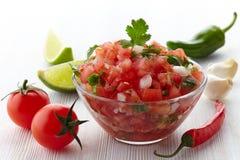 Immersion de Salsa Photo stock