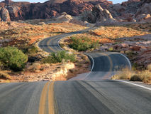 Immersion rouge de désert Photo libre de droits