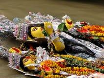 Immersion von Durga Lizenzfreies Stockfoto