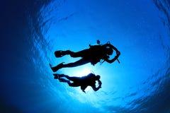 Immersione con bombole fotografia stock