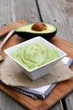 Immersione cremosa dell'avocado Fotografia Stock Libera da Diritti
