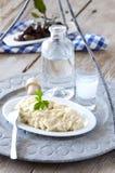Immersione dell'aglio Immagini Stock
