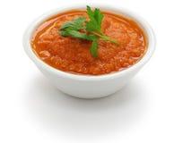 Immersione di roja della salsa Fotografie Stock Libere da Diritti