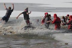 Immersione polare del Nebraska di giochi paraolimpici immagine stock