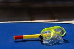 Immersione subacquea della mascherina Fotografia Stock Libera da Diritti