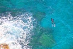 Immersione subacquea subacquea Immagine Stock Libera da Diritti