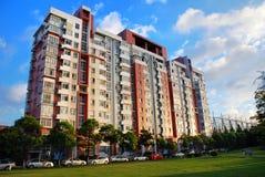Immeuble à Changhaï photographie stock libre de droits