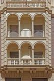 Immeuble à Malaga Photos stock