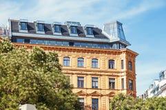 Immeuble à Vienne - en Autriche Photo libre de droits